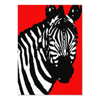 zebra announcements / invitations