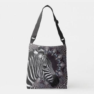 Zebra Art Cross Body Bag