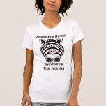 Zebra Art T Shirt