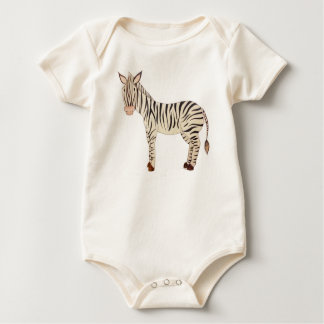 Zebra Baby Bodysuit