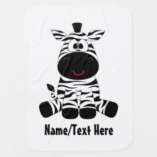 Zebra baby is cute baby blanket