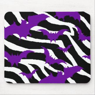 Zebra Bats Mouse Mat