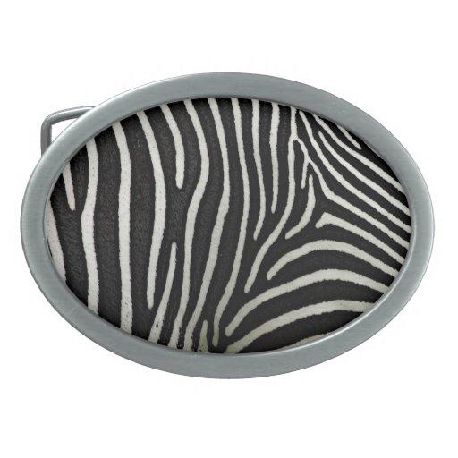 Zebra Belt Buckle