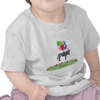 zebra birthday t-shirt