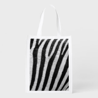 Zebra Black and White Striped Skin Texture Templat