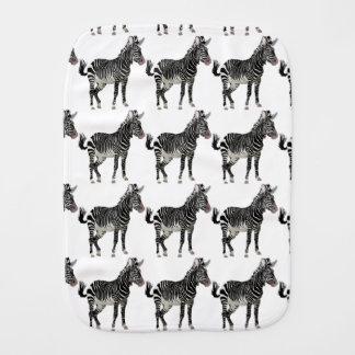 Zebra Burp Cloth
