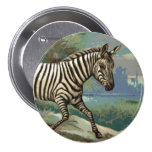 Zebra Button