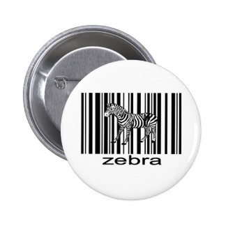 Zebra Button