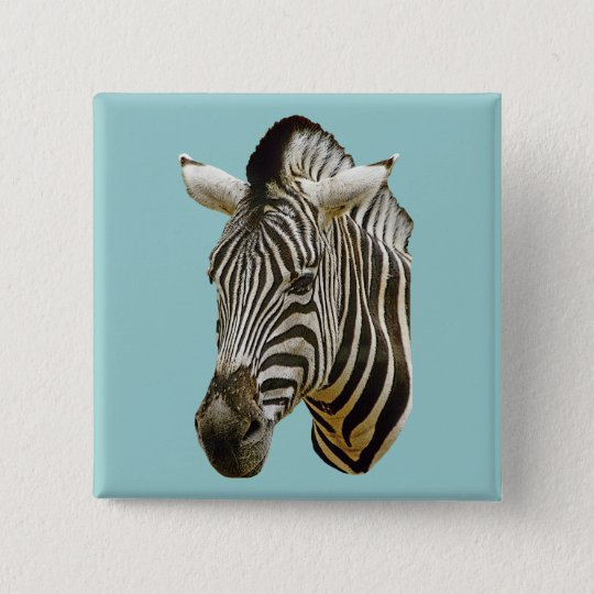 Zebra Button or Badge