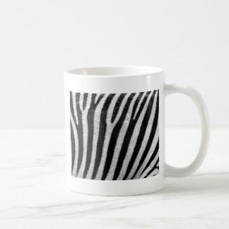 Zebra Camo Pattern Basic White Mug
