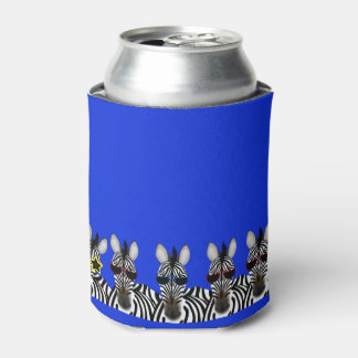 Zebra Can Cooler
