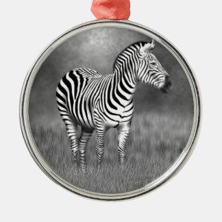 Zebra Christmas Ornament