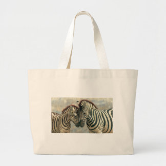 zebra-clip-art-3 large tote bag
