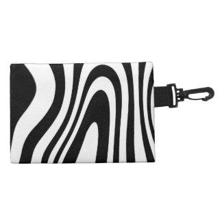 Zebra Clip on Accessory Bags