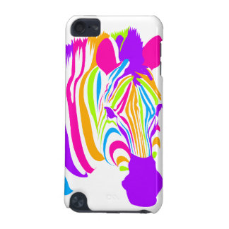 Zebra Color Burst iPod Touch (5th Generation) Case