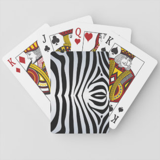 Zebra deck of Playing Cards