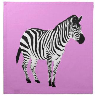Zebra Design Napkin