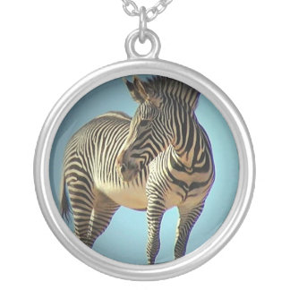 Zebra Design Necklace