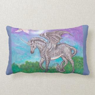 Zebra Dragon Lumbar Cushion