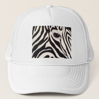zebra eye hat