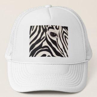 zebra eye hat