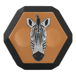 Zebra Face Black Bluetooth Speaker