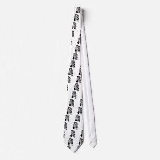 Zebra Face Tie