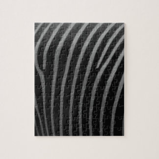 zebra Faux Fur Gifts Jigsaw Puzzle
