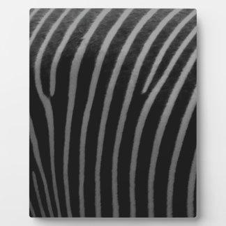 zebra Faux Fur Gifts Plaque