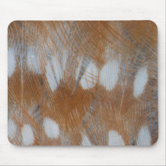 Zebra Finch Feathers Abstract Mouse Mat