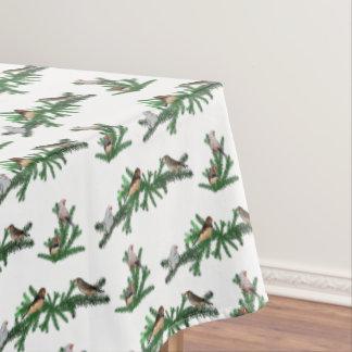 Zebra Finch Party Tablecloth (choose colour)