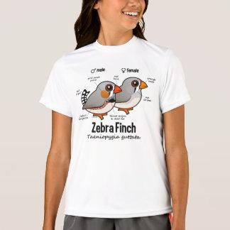 Zebra Finch Statistics T-Shirt