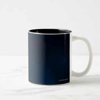 Zebra firefish Two-Tone coffee mug