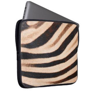 Zebra Flur Laptop Sleeve