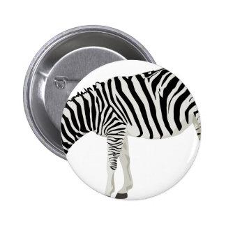 zebra friend family shower party love 6 cm round badge