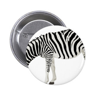 zebra friend family shower party love 6 cm round badge