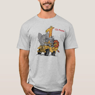 ZEBRA FRIENDS and THINK ZEBRA T-Shirt