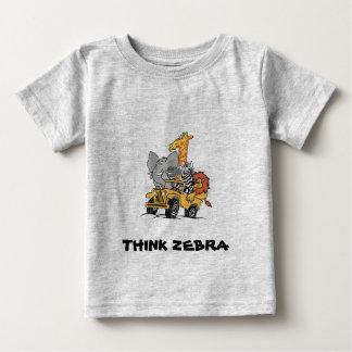 ZEBRA FRIENDS for BABIES Baby T-Shirt