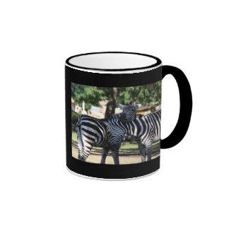Zebra Friends Mug