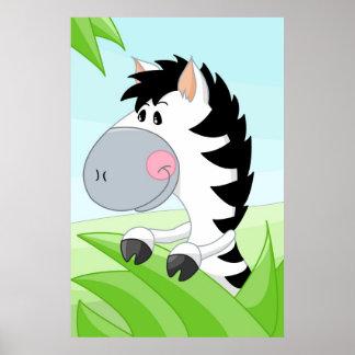 Zebra from Africa Print
