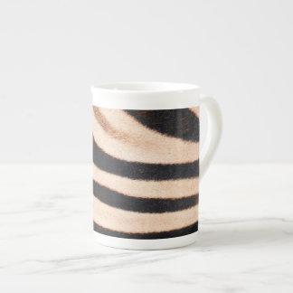 Zebra Fur Bone China Tea Cup