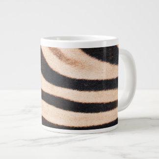 Zebra Fur Jumbo 20 Oz Large Ceramic Coffee Mug