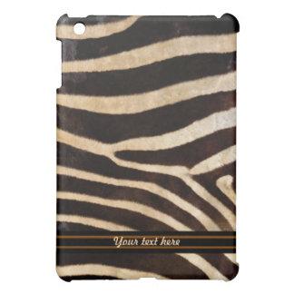 Zebra Fur Pern - Customize Case For The iPad Mini