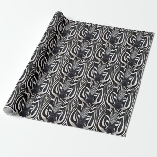 Zebra Gift Wrapping Paper