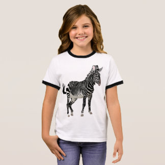 Zebra Girls' American Apparel Fine Jersey T-Shirt