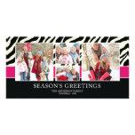 ZEBRA GREETINGS   HOLIDAY PHOTO CARD
