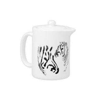 Zebra Heads Wildlife Art