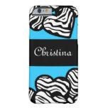Zebra hearts iPhone 6 case