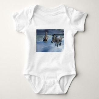 Zebra Heaven Baby Bodysuit