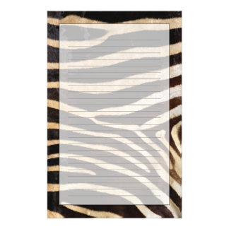 Zebra Hide 2 Stationery